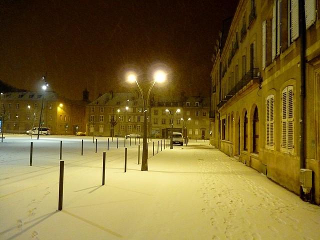 Metz sous,la neige 2 Marc de Metz 16 01 2013
