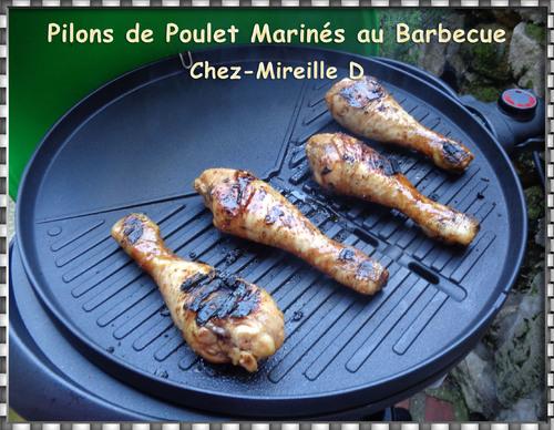Pilons de Poulet Marinés au Barbecue