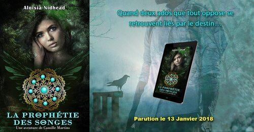 La Prophétie des Songes T1 - Une aventure de Camille Martins - Aloïsia Nidhead