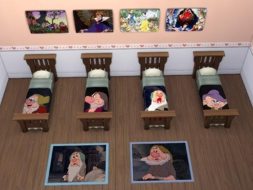 Second Set Blanche-Neige et les 7 nains
