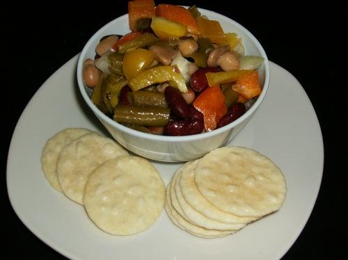 Les salades de légumineuses