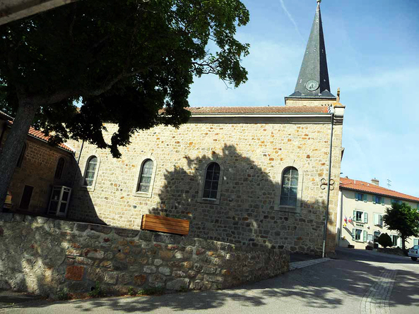 Vézelay - Le Puy en Velay 2011 - La Chapelle en Lafay