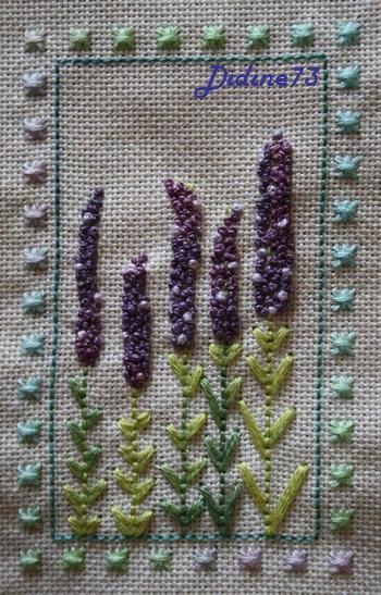 SAL duo : le jardin aux trèfles - étape 1 - mes delphiniums
