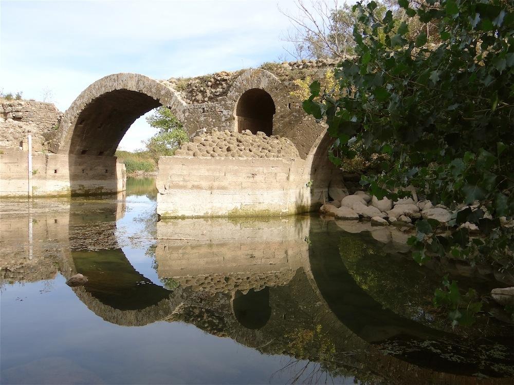 viste gallo romaine a ST.THIBERY  (hérault)