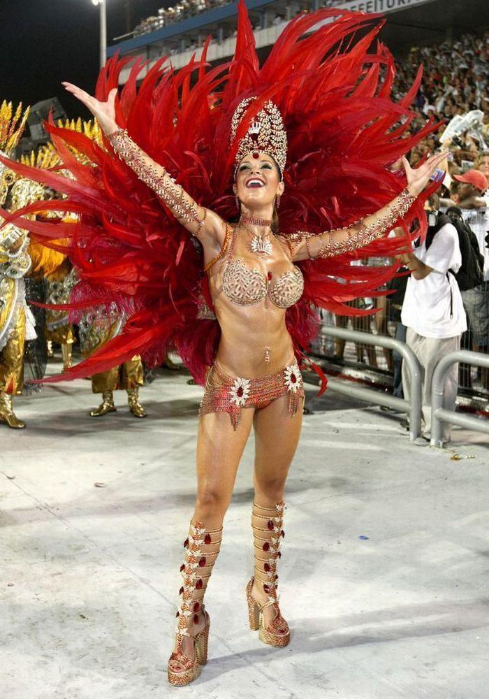 Les filles du carnaval de Rio