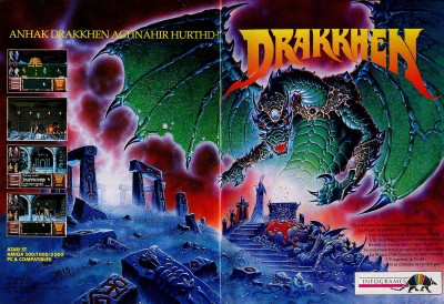 Drakkhen advert 2 pages