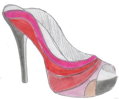 heels, talons, stilettos