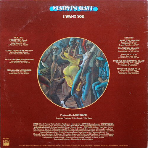 "Marvin Gaye : Album "" I Want You "" Tamla Records T6-342S1 [ US ]"