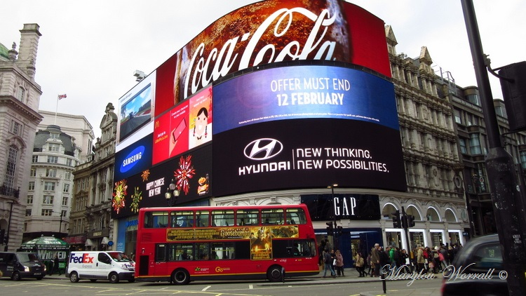 Londres : Piccadilly Circus