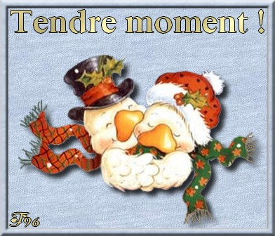 Tendre moment !