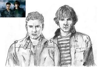 Dean & Sam Supernatural
