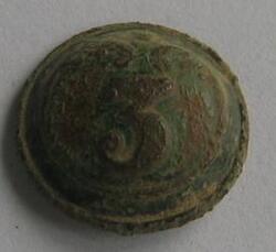 Bouton du 3ème Régiment d'Infanterie