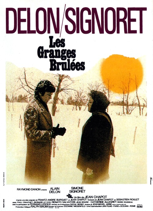 LES GRANGES BRULEES -  ALAIN DELON BOX OFFICE 1973