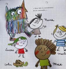 Le monstre des couleurs va à l'école