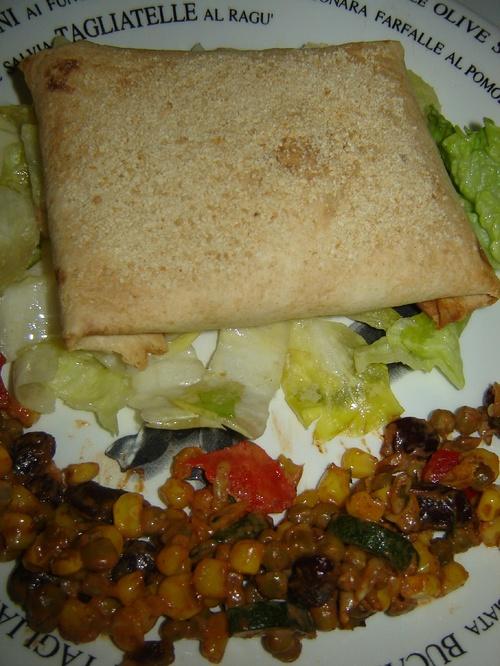 Tortillas aux couleurs rasta