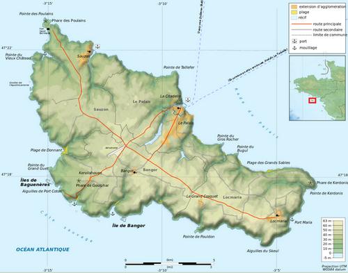Circuit Touristique : BELLE-ÎLE  -  ÎLE DE GROIX