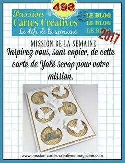 Passion cartes Créatives#498 !