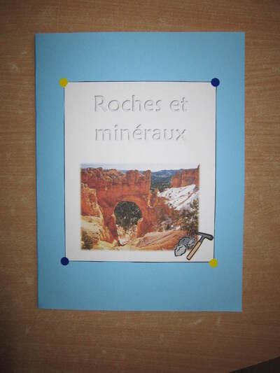 Roches et minéraux - Théo