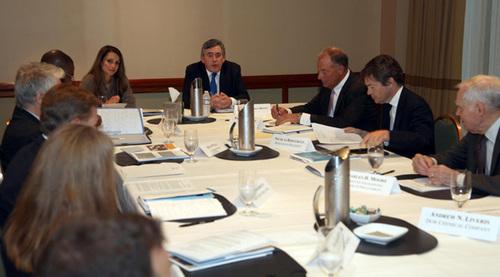 Rania en réunion