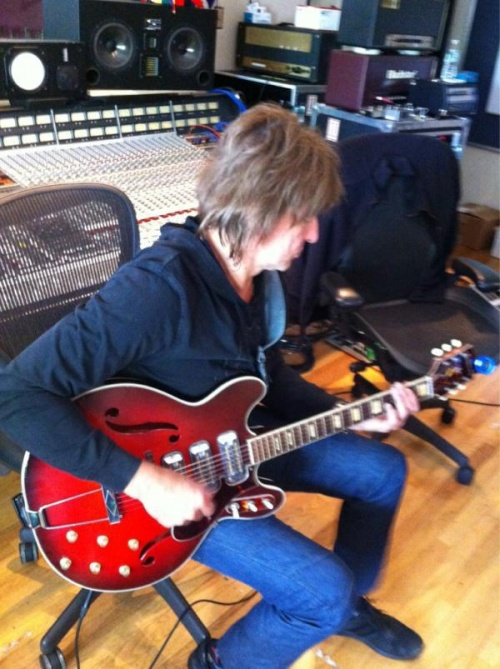 richie en studio  dernier photo