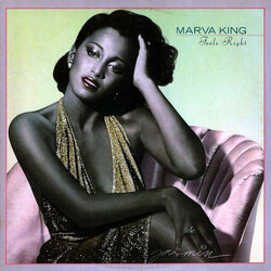 Marva King - Feels Right - Complete LP