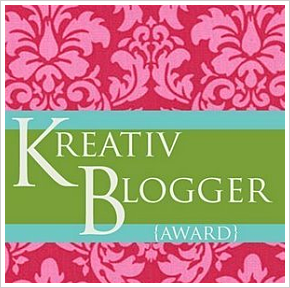 - Flash Info de dernière Minute - Kreativ Blogger Award