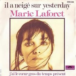 Il a neigé sur Yesterday - Marie Laforet