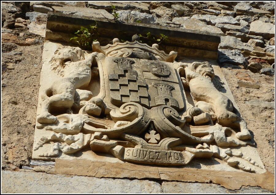 Castelnou, village et château : 2