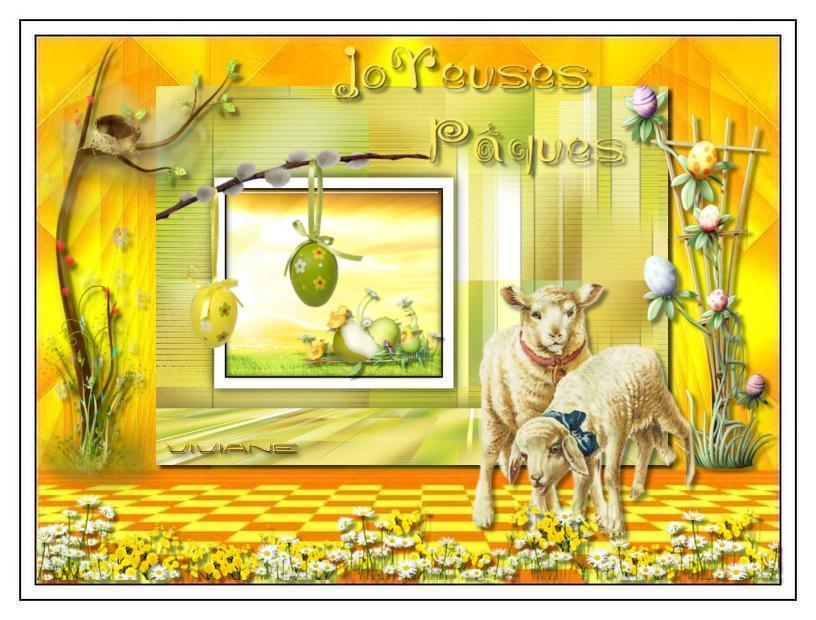 Les animaux fêtent Pâques