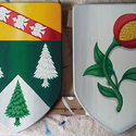 Blason Vosges et Lamarche