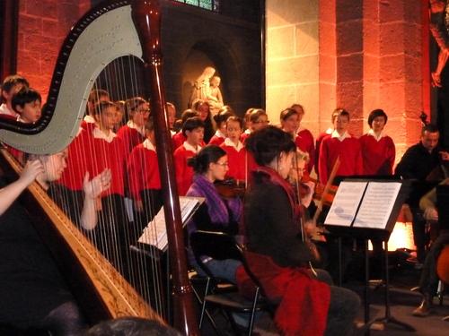 Concert de Noël à la cathédrale du Puy en Velay!