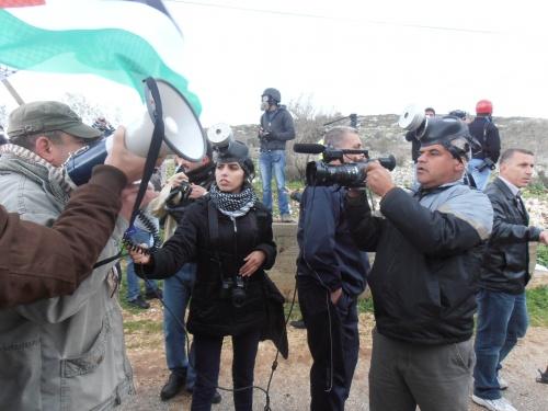 journalistes demo