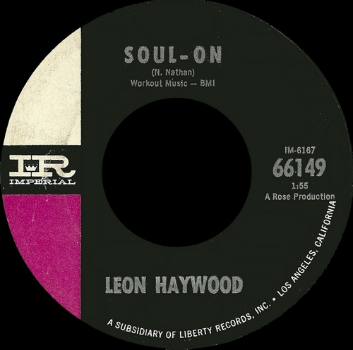 "Leon Haywood : Album "" The Mellow , Mellow Leon Haywood "" Galaxy Records 8206 [ US ]"