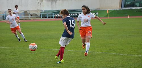 Et de deux pour Laurence... Victoire face aux Pays-bas (2-1)