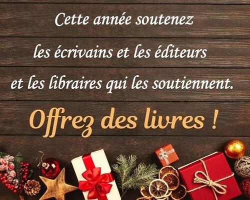 Offrez des livres !