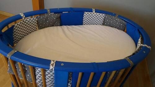 Coudre un tour de lit pour bébé