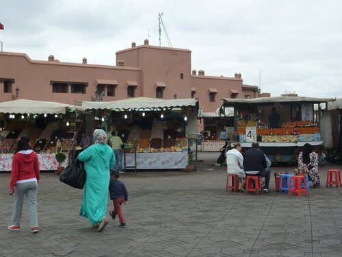 Marrakech, Safi.