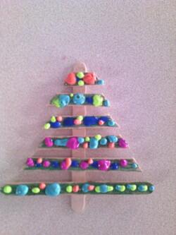 * L'arbre à thème de Noël version 2014