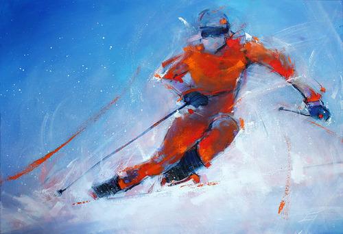 Le ski - Lucie LLONG