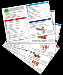 Rallye-liens - Plans de travail en CE1-CE2