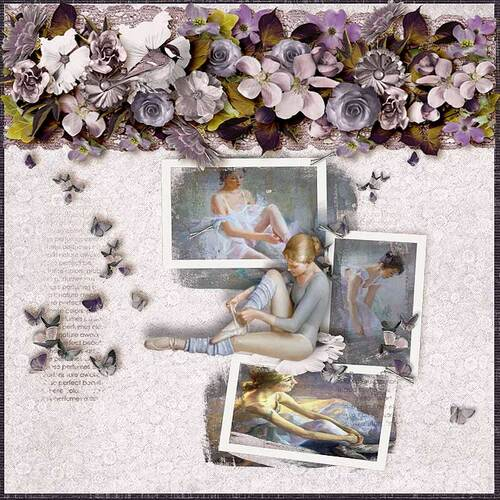 Now And Then  by dentelle scrap art