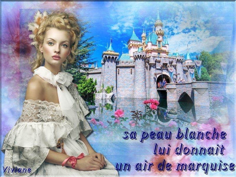 Portrait de femme défi de Marjolaine