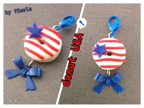 création 2014-8: *le donut USA*