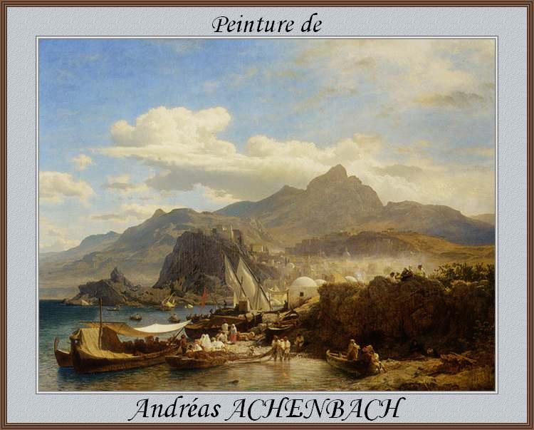 Peinture de : Andréas ACHENBACH