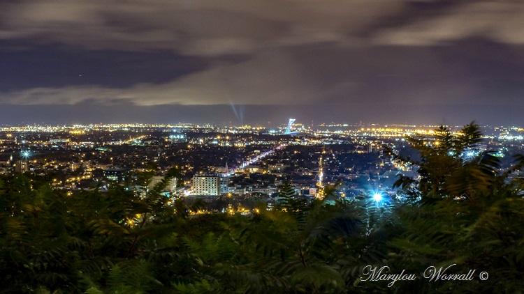 Montréal : Parc du Mont Royal de nuit