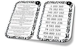 Lire les nombres entiers