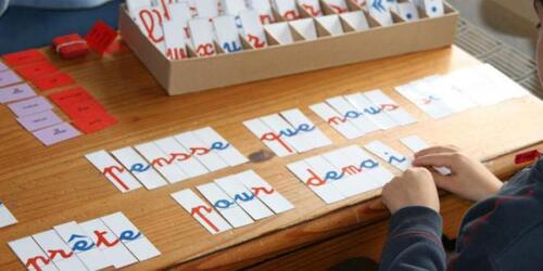 Atelier entraînement pour les mots de dictées