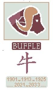 Signes du zodiaque chinois - Boeuf ou Buffle !