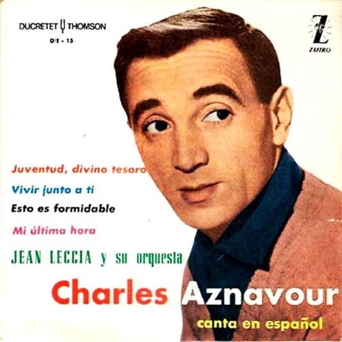 Charles Aznavour - Mi última hora (Si je n'avais plus)