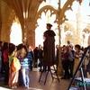 Lisbonne - Théâtre dans le monastère des Jéronimos